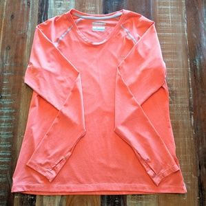 Columbia Coral Omni-Shade Sun Protection Size L
